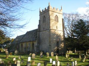 church from churchyard NW