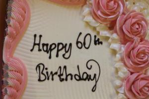 Dorine 60 Birthday