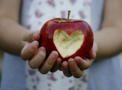 Heart Apple by Clare Bloomfield on freedigitalphotos.net