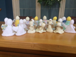 our wonderful knitted angels