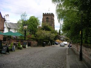 Photograph of Grappenhall Village