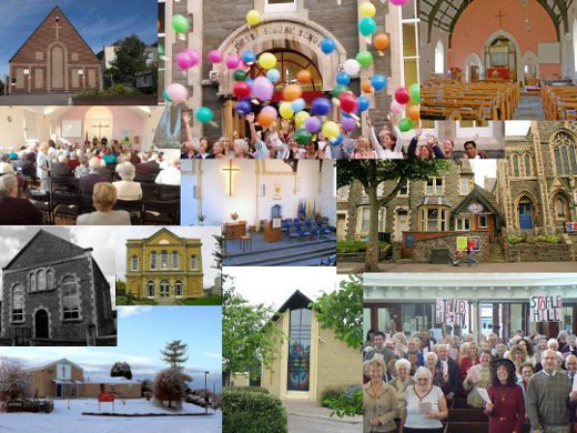 Collage of BSGC Churches