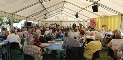 Tea Dance in the Marquee