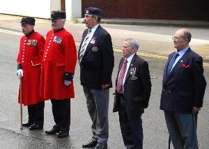 Dedication On parade