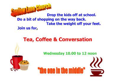 Coffee Morning, Tea Coffee  Conversation