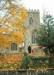 The Parish Church in Autumn