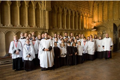 The Choir at Bristol Cathedral on 26 April 2008