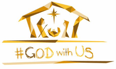The God with us logo