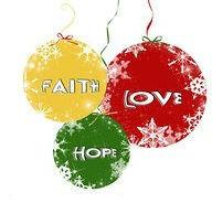 Faith Hope and Love baloons
