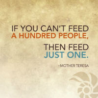 Feed one