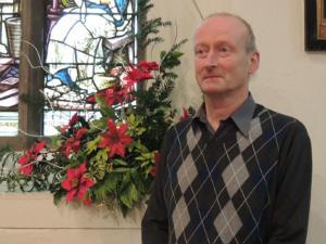 Church Warden Tim Alexander
