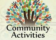 community activities with hands