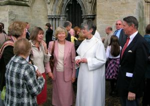 Anns ordination at Salisbury Cathedral