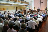 at worship