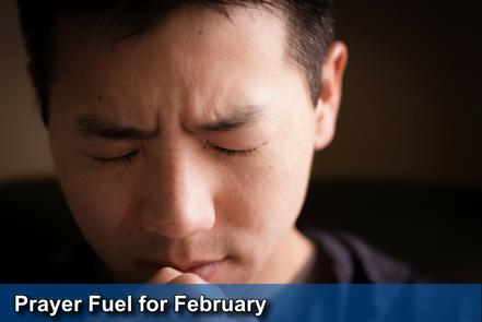 February Prayer Fuel - click here