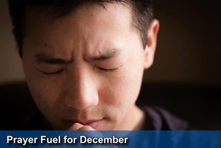 December Prayer Fuel - click here