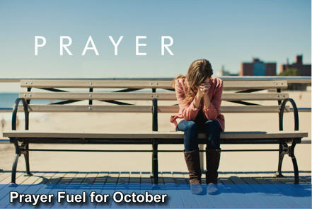 Prayer Fuel October - November 2014