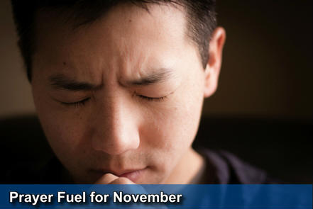 November Prayer Fuel - click here