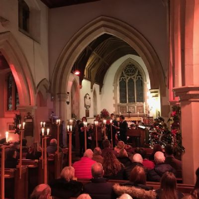 Carols by Candlelight at Great Hormead