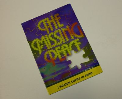 Missing Peace?  Let us send you a FREE COPY