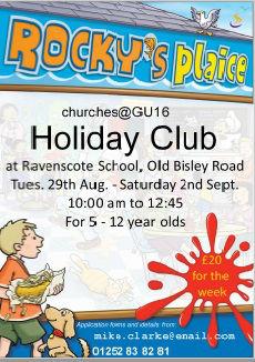 Rockys Plaice Holiday Club