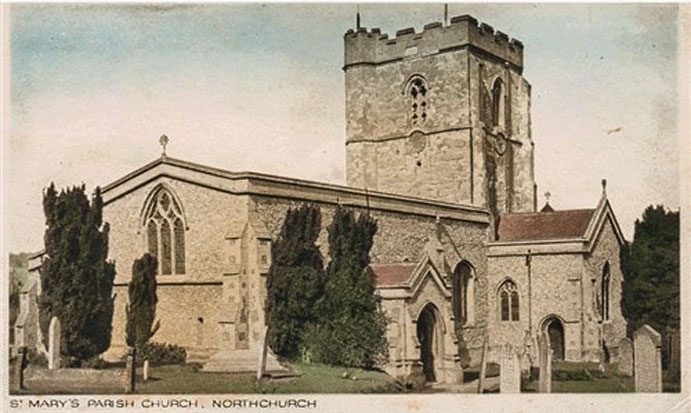 St Marys Postcard