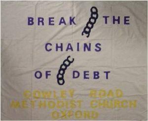 Jubilee 2000 banner