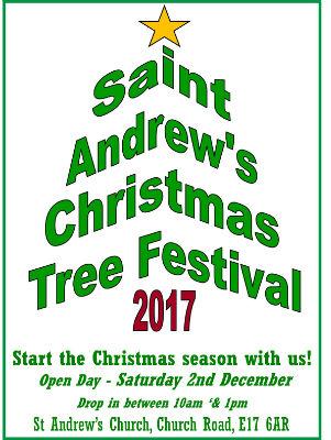 Christmas Tree Festival flyer