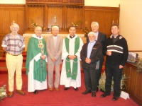 The Bishop and Clergy past and present