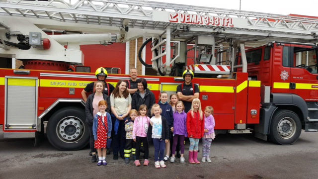 GB at the Fire Station