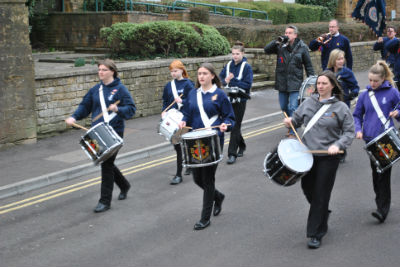 The Drums Parade