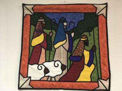 Christmas banner - Shepherds