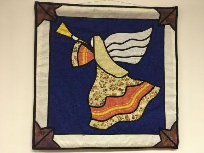 Christmas banner - Angel