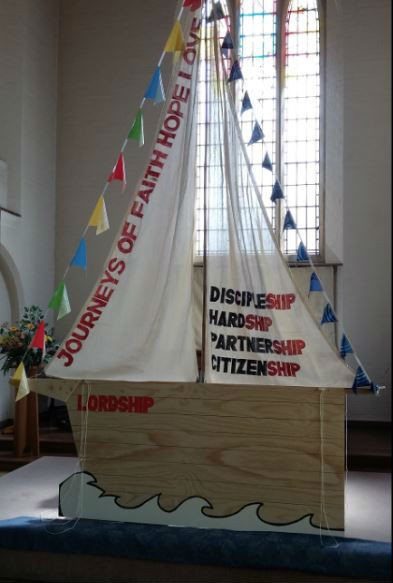 St Pauls Journeys - Partnerships - ship