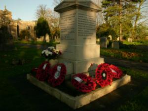 The War Memorial at Sunset