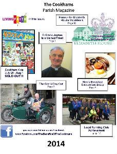 front cover of parish magazine