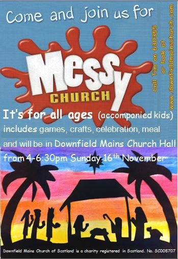 Messy Christmas poster