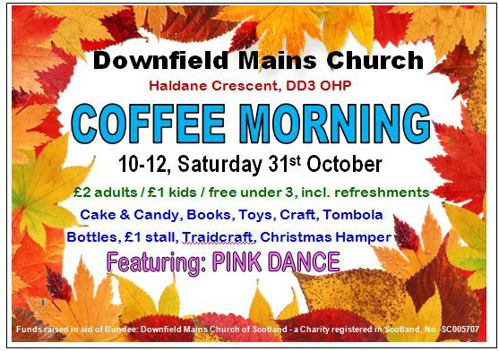 Coffee Morning Poster 2015