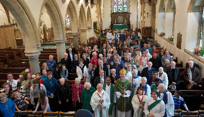 Harvest 2015 with Bishop Richard