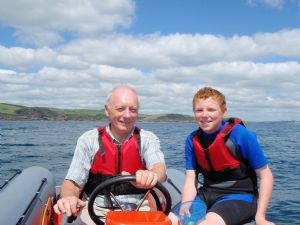 Learning to drive a powerboat