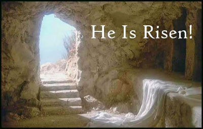 empty tomb after resurrection