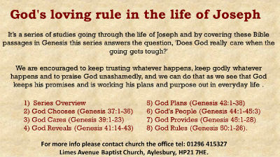 Joseph overview Catalyst