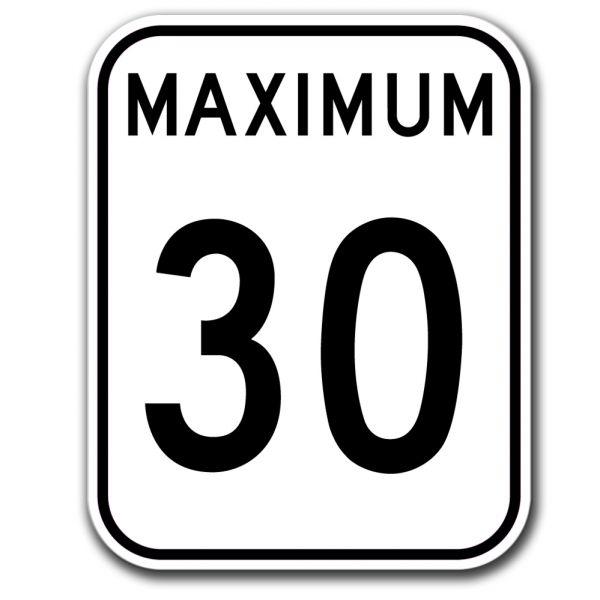 30 maximum