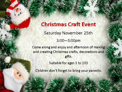 Christmas Craft 2017