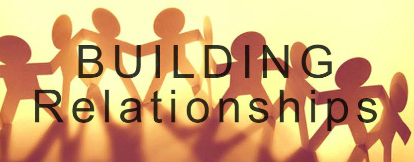 building relationships banner