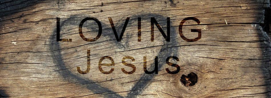 loving jesus banner