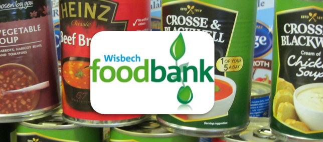 wisbech foodbank banner