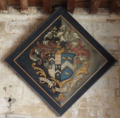 Hatchment for Buckworth Family