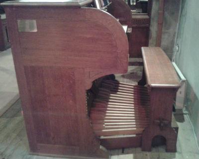 Organ Console: Photo S, Nottingham