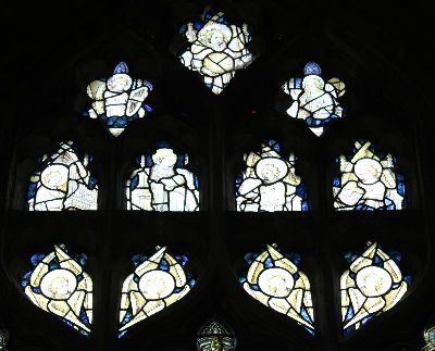 Medieval Stained Glass: Photo C Kebbell